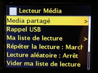 Accès aux fichiers audio stockés sur un ordinateur, un disque dur USB ou un NAS par le protocole UPNP