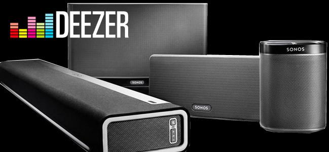 Ecouter Deezer dans toute la maison avec Sonos