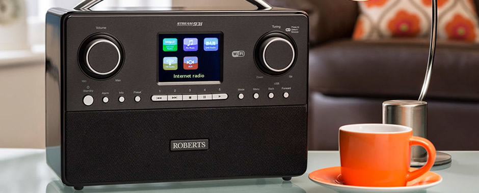 Test du poste radio stéréo Roberts Stream 93i avec tuners Internet, DAB et FM