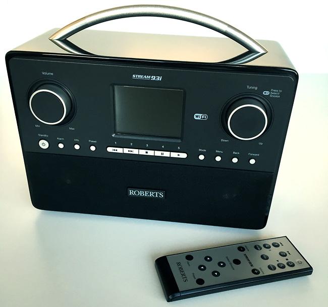 Roberts Stream 93i poste de radios Internet avec tuner DAB, FM, WIFI