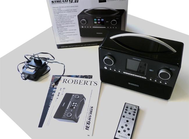 Test du poste de radio WiFi Roberts Stream 93i