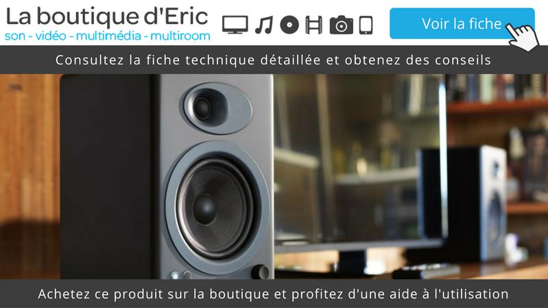 Enceintes amplifiées Audioengine A5+ - Consultez la fiche technique détaillée et obtenez des conseils
