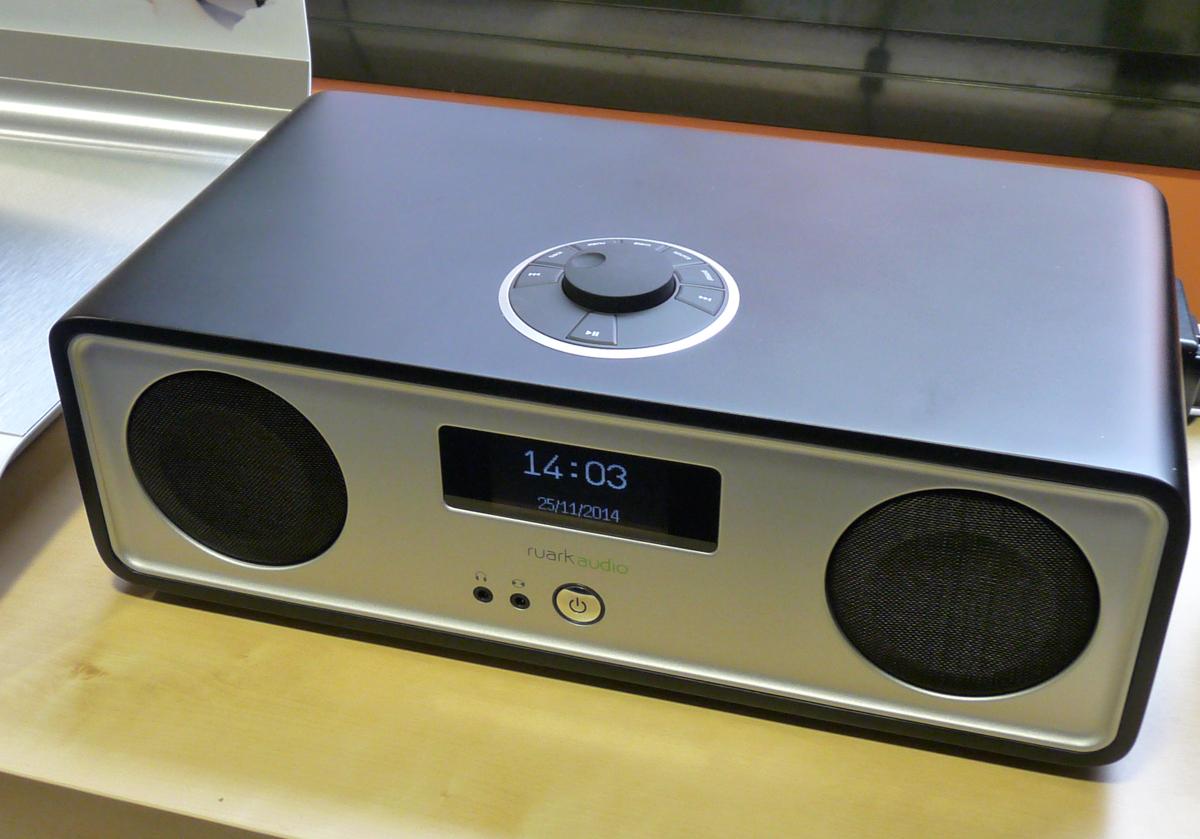 Chaine HiFi tout en un sans fil WiFi et Bluetooth Ruark Audio R2