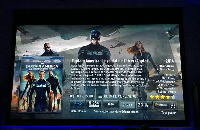 Ma filmothèque dématérialisée sur mon écran Home Cinéma en qualité Blu-ray