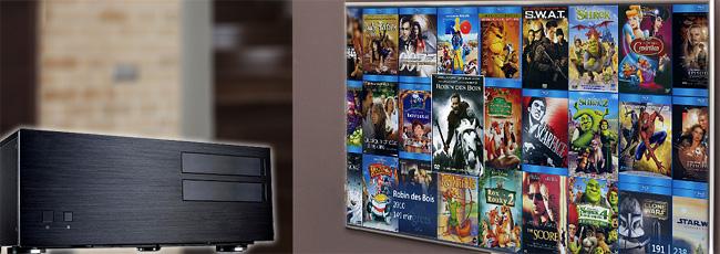 Serveur pour la copie et le stockage des disques DVD / Blu-ray - Distribution vidéo dans toutes les pièces de la maison