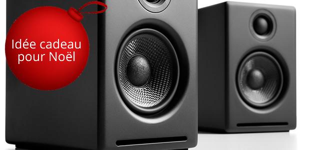 Idée cadeau pour Noël, les enceintes actives, multimédia, HiFi Audioengine A2+
