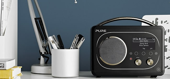 Poste radio Web Pure Evoke F4
