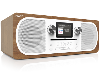 Pure Evoke C-F6, radio Internet systeme HiFi compact USB RJ45