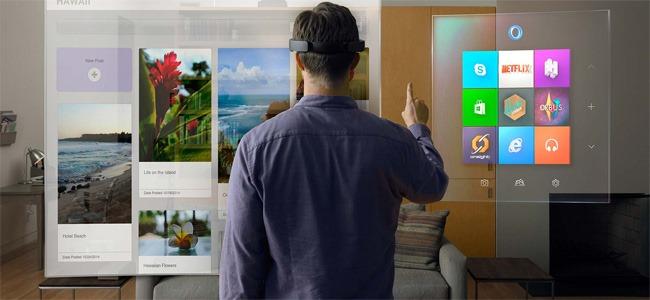 De l'effet Waouh chez Microsoft avec HoloLens et quelques vrais nouveautés dans Windows 10