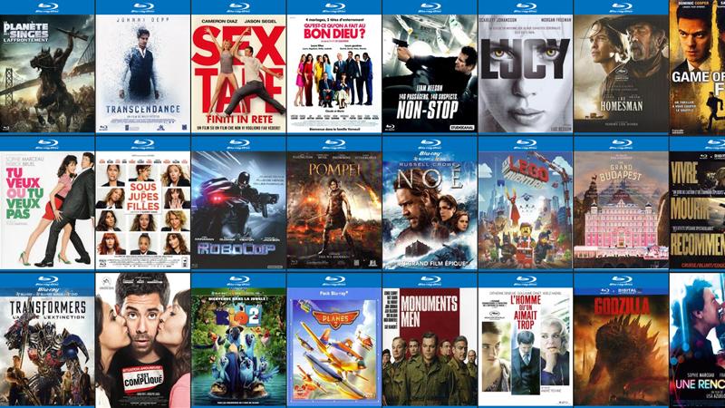 Affichage des films DVD et Blu-ray en mode paysage sur l'iPhone 6