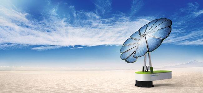 Un tournesol photovoltaïque dans votre jardin ? EDF ENR lance le premier générateur solaire intelligent