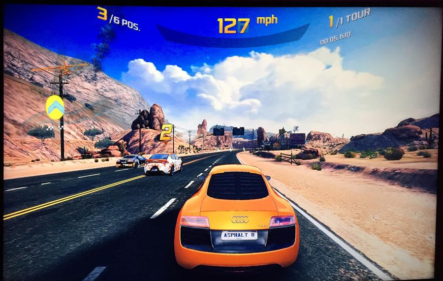 Console de jeux sous Android avec le lecteur Nexus Player