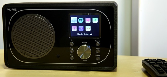Test du poste de radio Internet Evoke F3 avec tuners WiFi, DAB, FM et réception Bluetooth