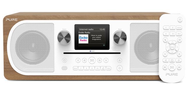 Poste de radio Pure Evoke C-F6 avec lecteur de CD intégré