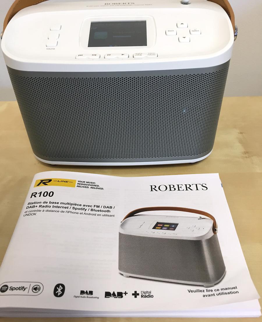 Roberts R-Line R100 - Documentation en français au format papier