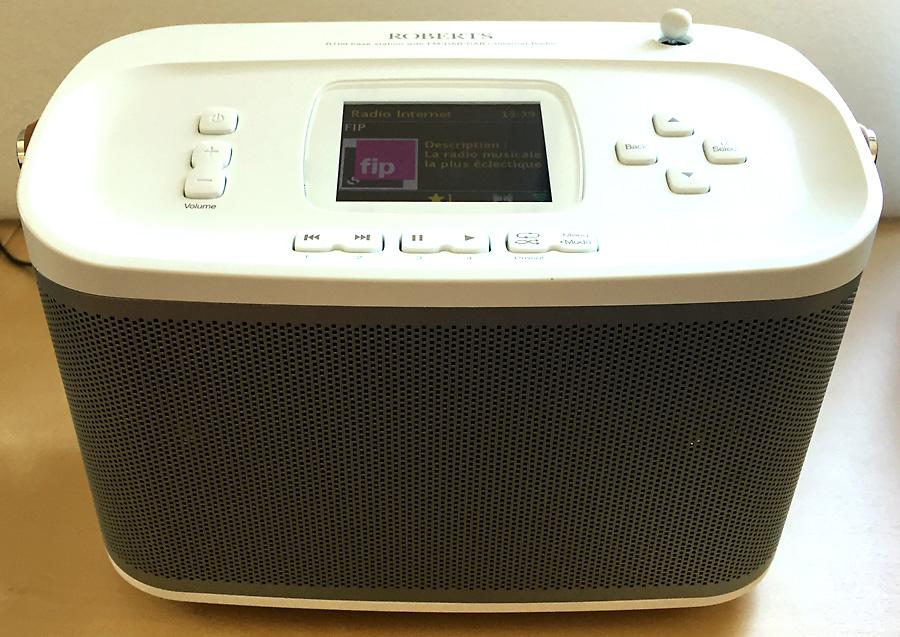Roberts R-line R100, poste de radio Internet et enceinte sans fil WiFi / Bluetooth