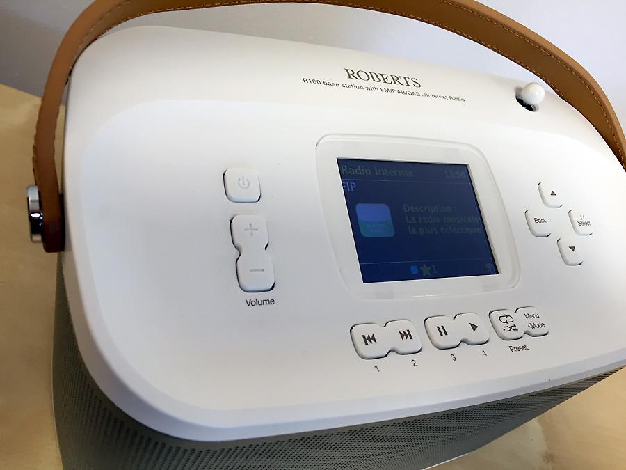 Roberts R-line R100 - poste de radio Internet, FM, DAB, UPnP, WiFi et Bluetooth