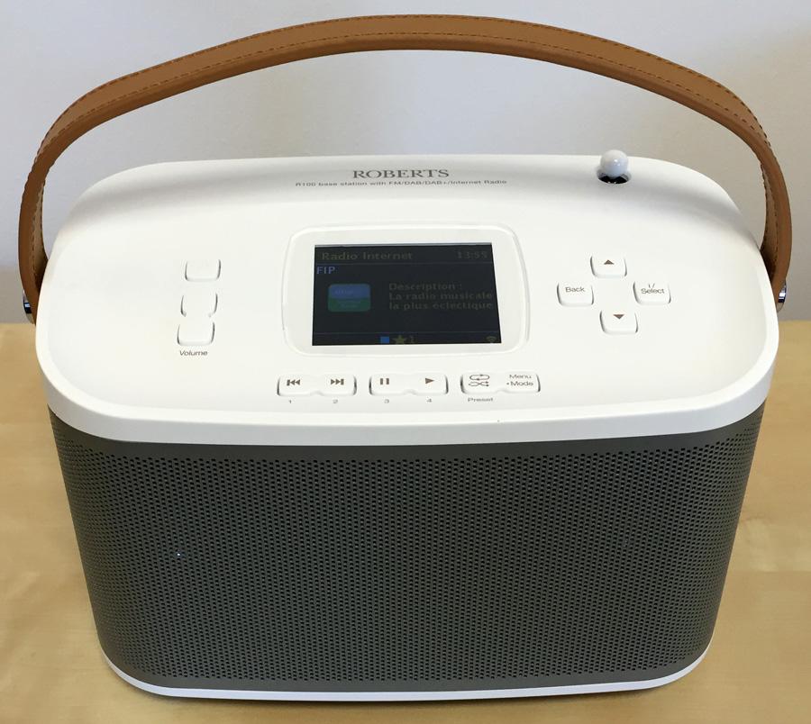 Poste de radio numérique, wifi, sans fil, bluetooth Roberts R-Line R100