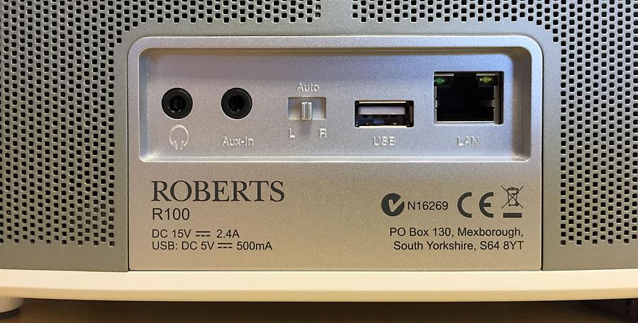 Roberts RLine, switch pour l'association multiroom et stéréo