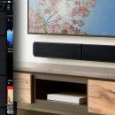 Test et avis sur la barre de son TV Bluesound PULSE SOUNDBAR : lecteur réseau HD, Bluetooth aptX et amplificateur de puissance de 120 Watts