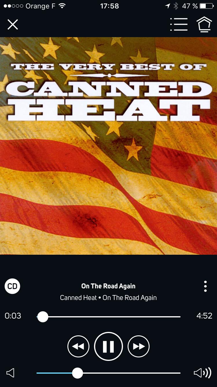 Ecoute de fichiers audio en qualité CD sur la barre de son