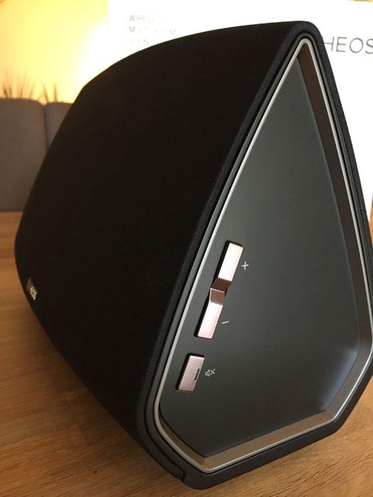 Denon HEOS 5 une enceinte design, amplifiées et multiroom