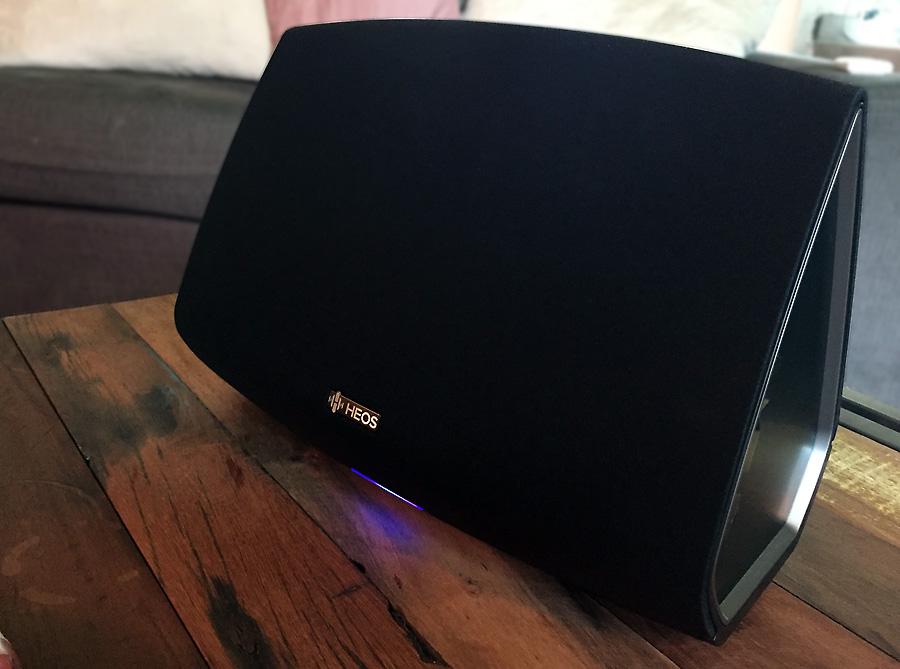 Test de l'enceinte Denon HEOS 5 HS2 : réseau, wifi, bluetooth, usb et multiroom en qualité HD 24 / 192