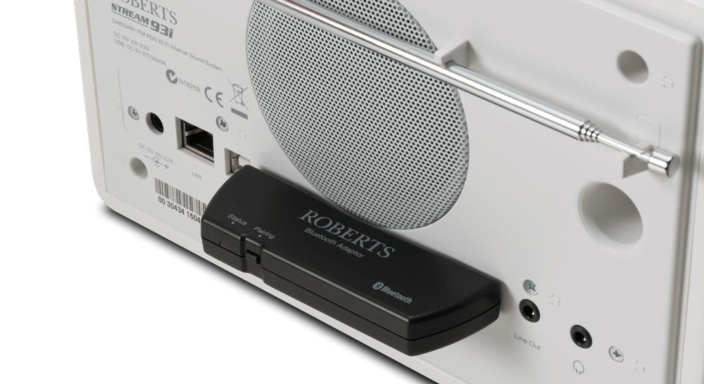 Adaptateur Bluetooth musique sans fil radio Roberts 93i