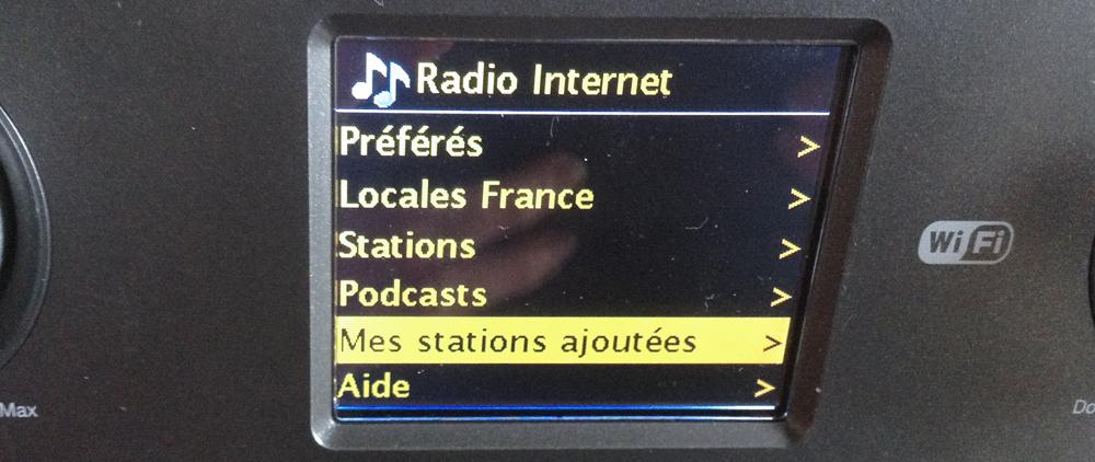 Retrouver ses podcasts et émissions enregistrés manuellement