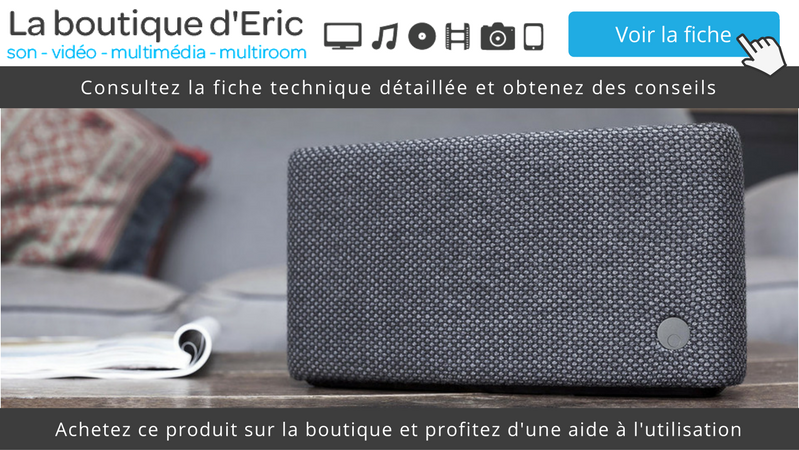 voir l'enceinte Bluetooth nomade sur batterie Cambridge Audio YOYO (S) sur la boutique
