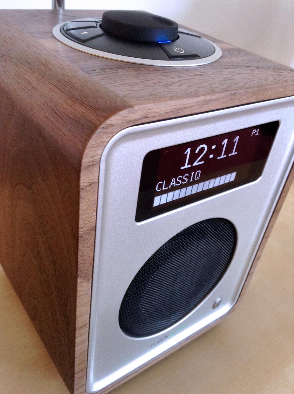 Poste de radio compact fm dab dab+ et bluetooth Ruark Audio R1