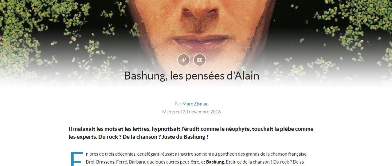 Web Player Qobuz - Les Grand Angles : extrait d'un d'article sur Alain Bushung (1)
