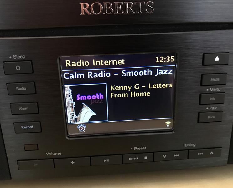 Ecoute des radios par Internet avec la connexion sans fil WiFi ou filaire ethernet RJ45