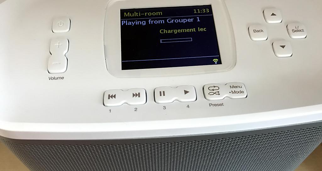 Ecouter un CD sur plusieurs enceintes sans fil WiFi par la fonction multiroom audio