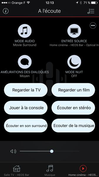 Personnalisation de la télécommande pour l'accès rapide aux entrées audio-video