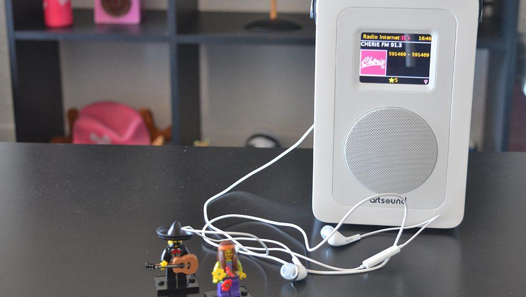 Écoute en stéréo des radios Internet aux écouteurs