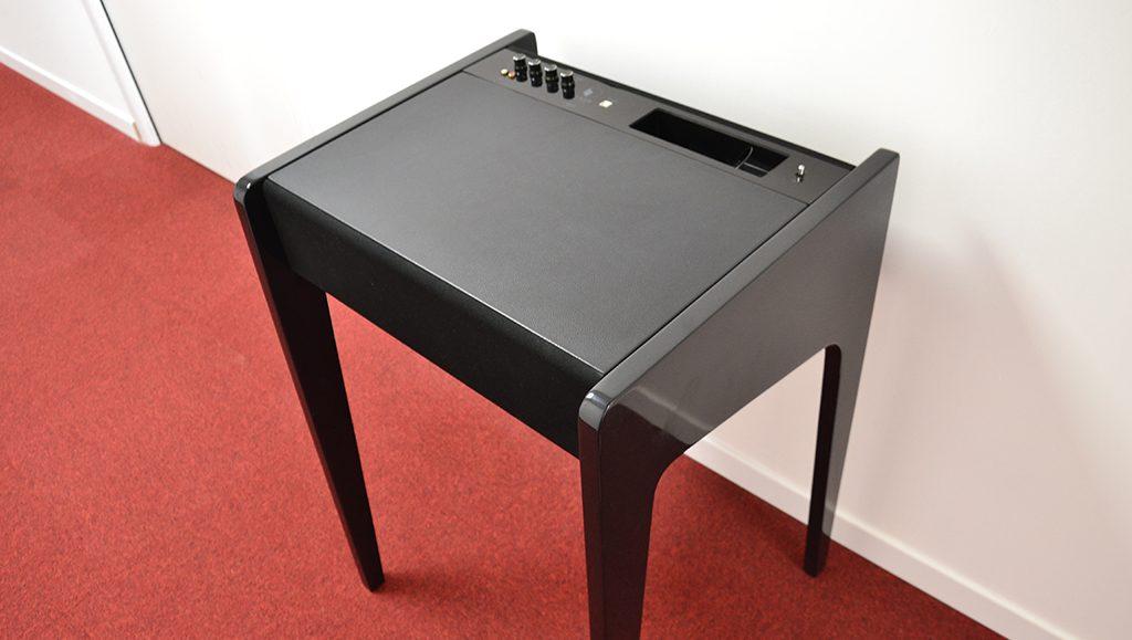 Test du meuble sonore LD120 de La Boite concept : mise en situation, contre un mur