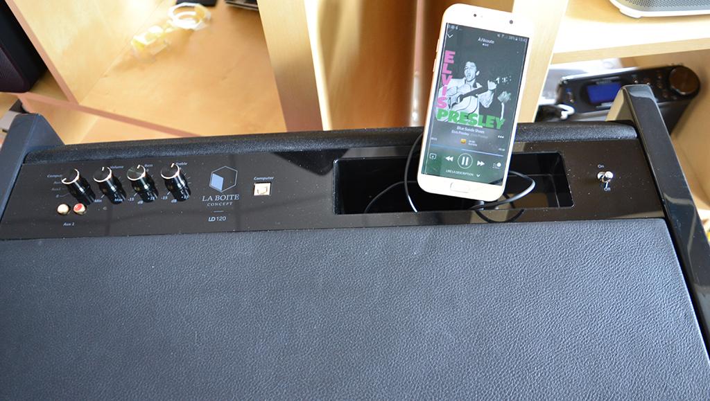 D couverte du meuble sonore ld120 de la boite concept for Fly la boite a meuble
