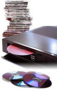 Rip d'une collection de CDs sur le serveur musical Dipiom-media