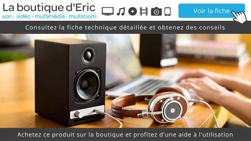 Consulter la fiche technique et détaillées des enceintes actives Bluetooth Audioengine HD3