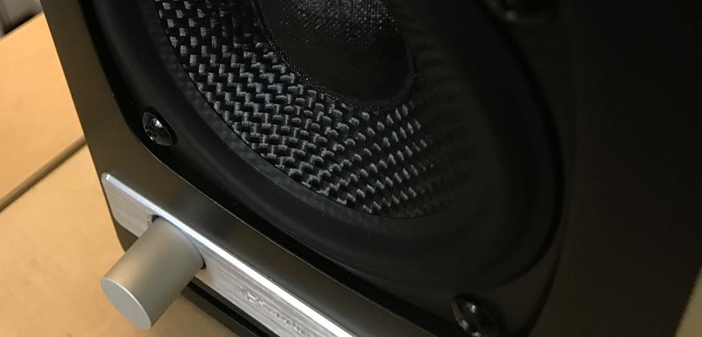 Haut parleur Kevlar de l'enceinte Audioengine HD3