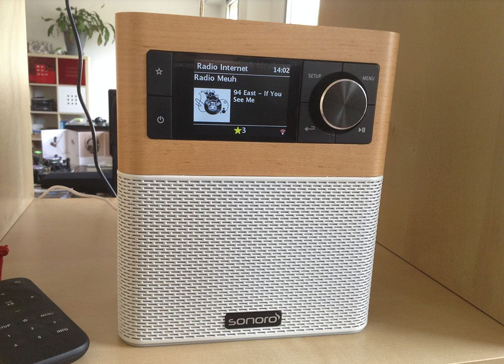 Poste radio Internet Sonoro Stream : triple tuner Internet/DAB/FM, Bluetooth, UPnP