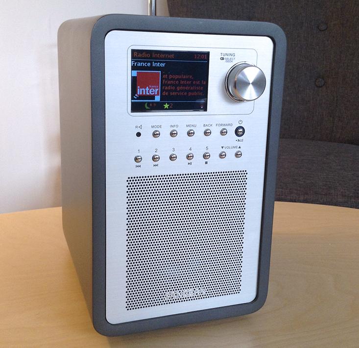 Le poste de radio Sangean Revery R5 permet la diffusion de 5 sources audio.