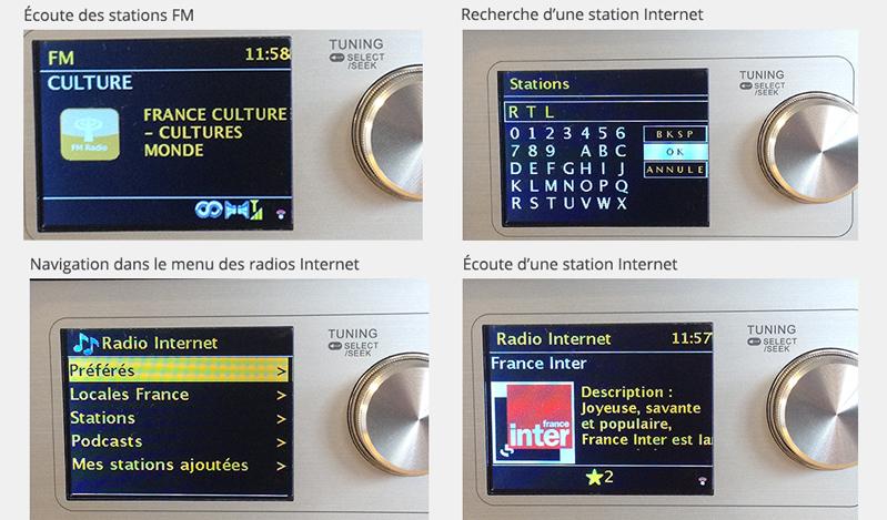 Avec son panneau de contrôle très intuitif, la prise en main du poste de radio Revery R5 est rapide.