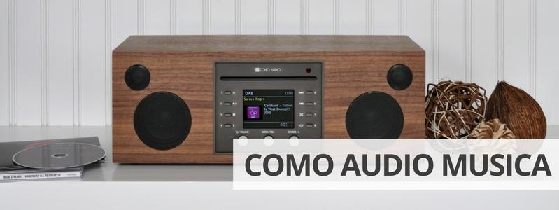 Découvrir la mini-chaîne HiFi Como Audio Musica sur La boutique d'Eric