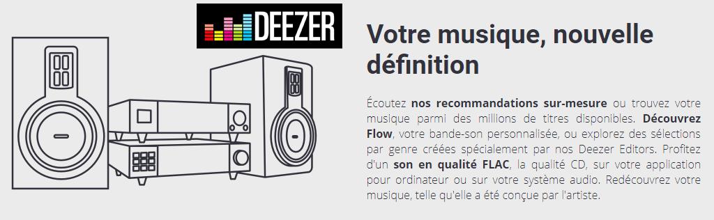 L'abonnement Deezer HiFi à 50% de réduction pour l'écoute en qualité CD au format FLAC