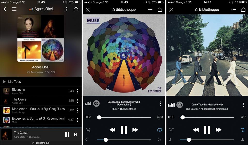 Deezer HiFi la qualité CD au lieu du format MP3 sur les produits Bluesound