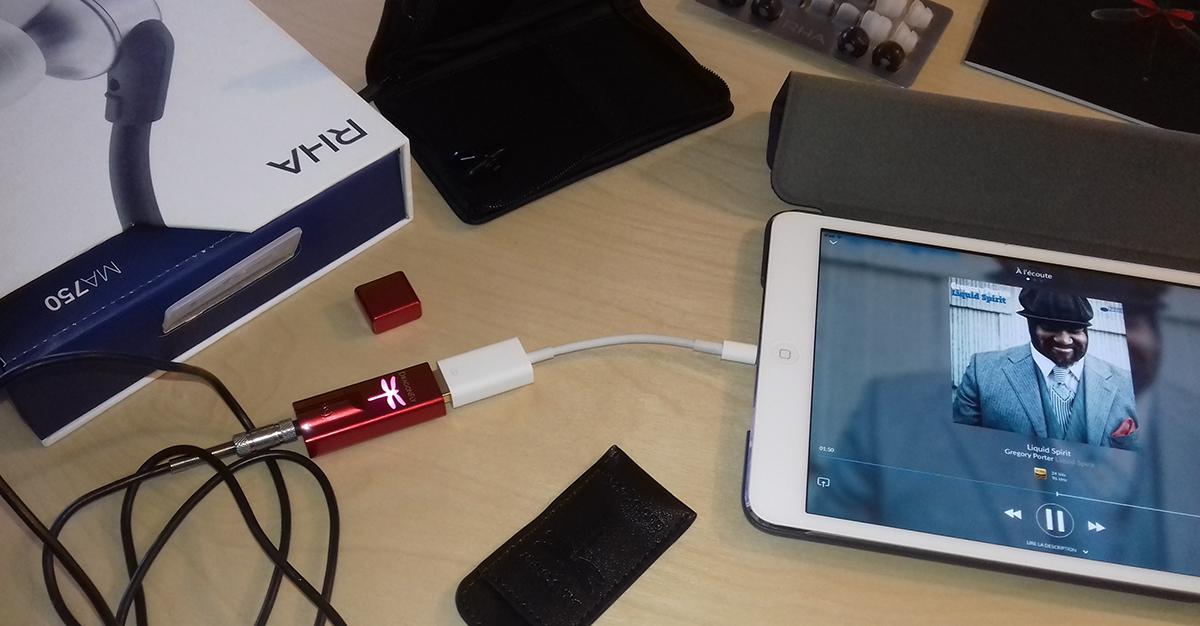 Améliorer le son de mon ordinateur et de mon smartphone avec le DAC audio USB DragonFly Red de AudioQuest