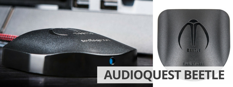 Découvrir le DAC audio USB, Bluetooth et Optique AudioQuest Beetle sur La Boutique d'Eric