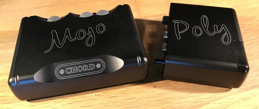 Assemblage du DAC Mojo et du lecteur Poly, nous obtenons un lecteur nomade HiFi